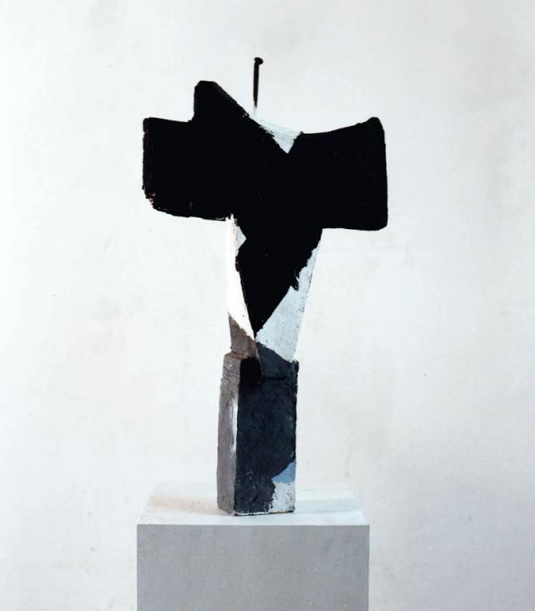 """""""Tierschädel"""" 1987 Luf/Becker Württembergisches Landesmuseum Stuttgart"""